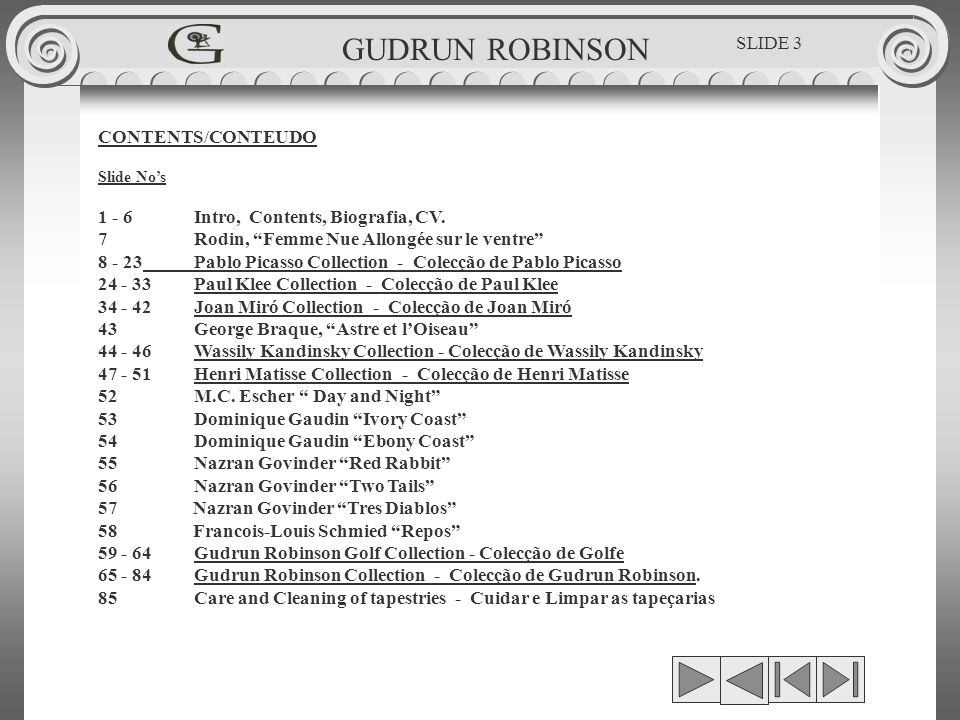 JOAN MIRÓ - LA LEÇON DE SKY TAPEÇARIA DE ARTE MODERNA MODERN ART TAPESTRIES 0.62 x 1.00 GUDRUN ROBINSON SLIDE 34