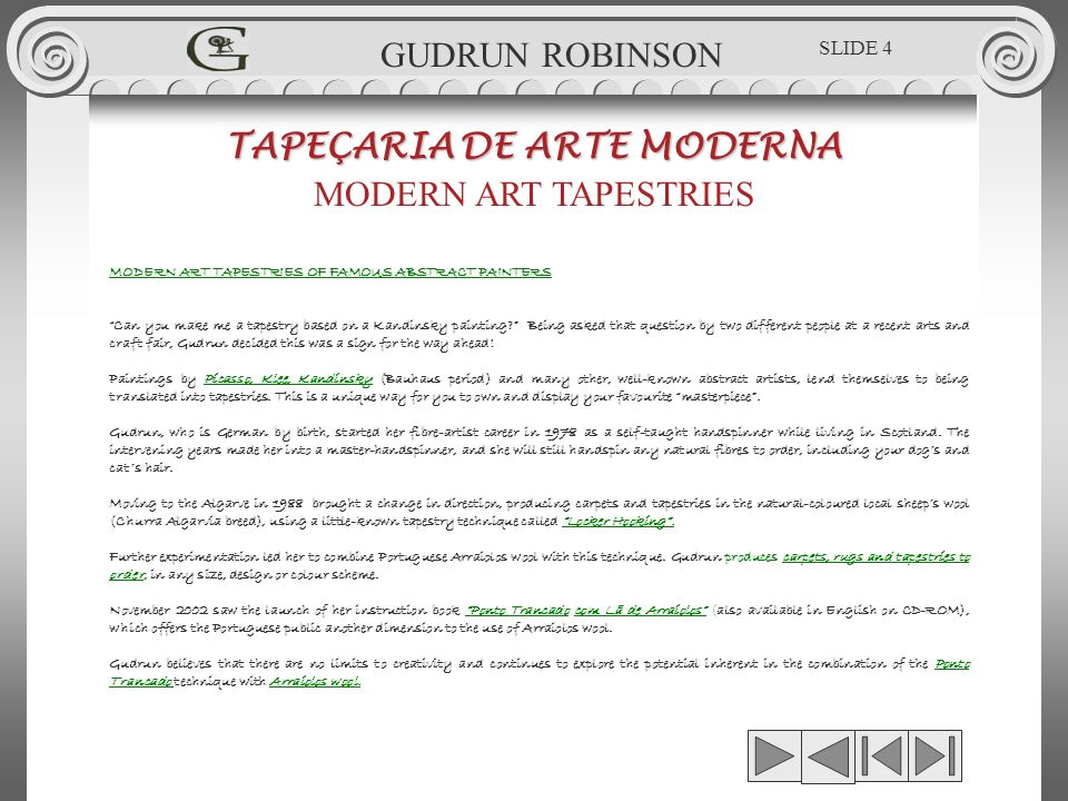 NAZRAN GOVINDER - RED RABBIT TAPEÇARIA DE ARTE MODERNA MODERN ART TAPESTRIES 0.79 x 1.69m GUDRUN ROBINSON GR.TPÇ.025 SLIDE 55