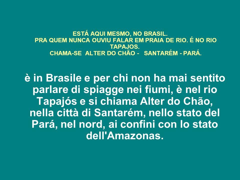 ESTÁ AQUI MESMO, NO BRASIL.PRA QUEM NUNCA OUVIU FALAR EM PRAIA DE RIO.