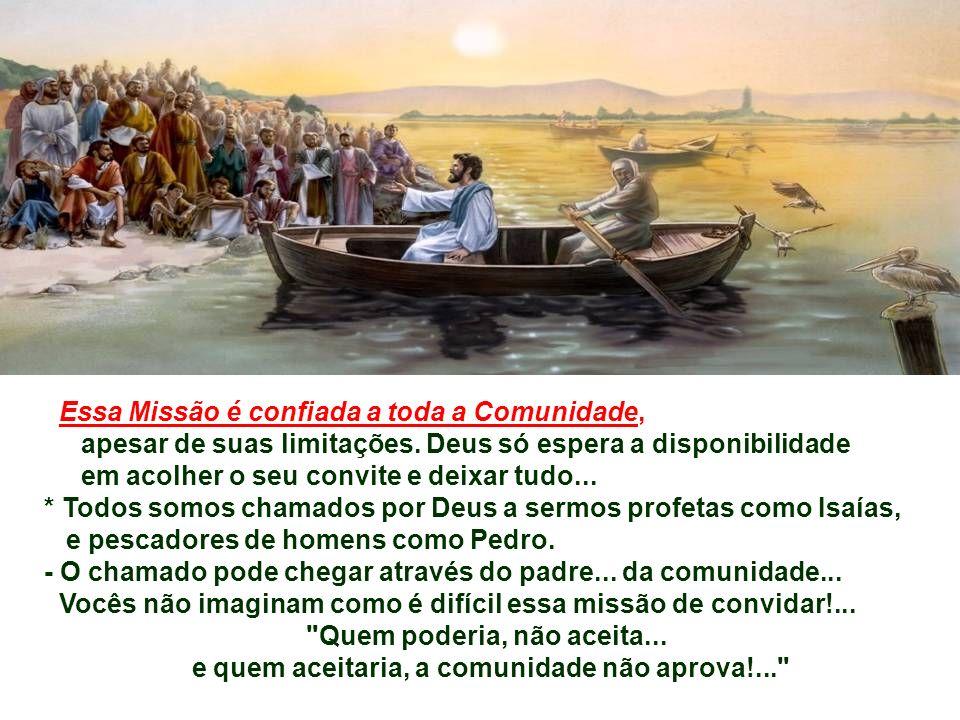 - A Pesca milagrosa não é resultado da habilidade de Pedro, mas da força da Palavra de Deus.