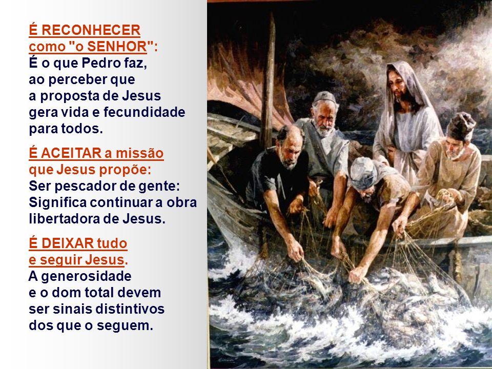 O texto apresenta uma Catequese sobre: O QUE É SER CRISTÃO.