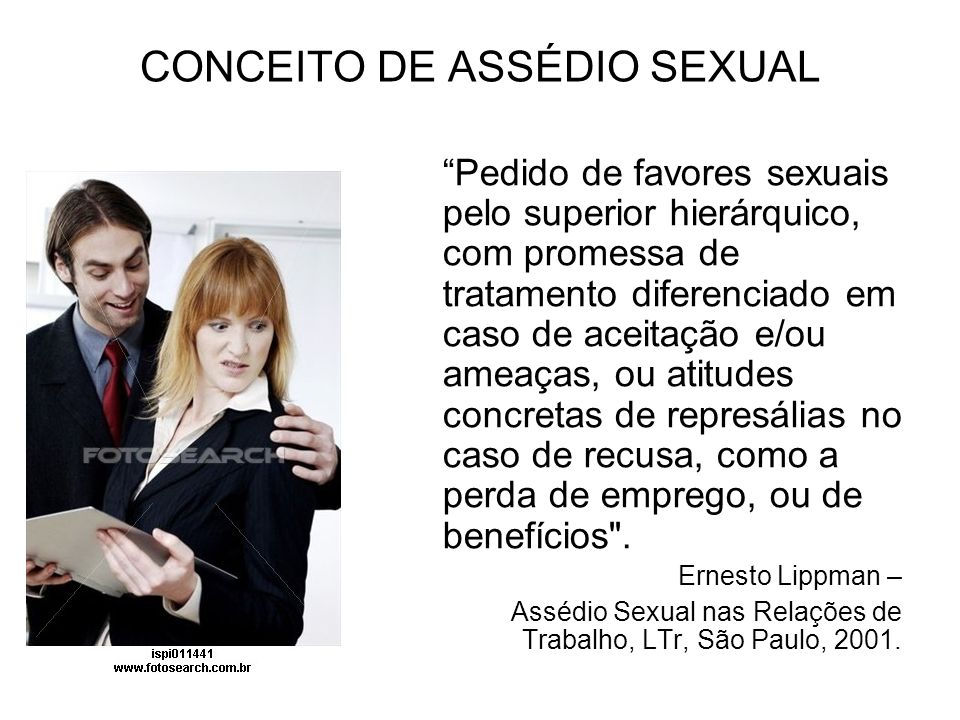 Resultado de imagem para Assédio sexual no Direito Trabalhista Brasileiro