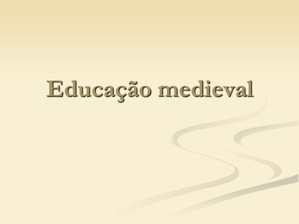 Educação medieval