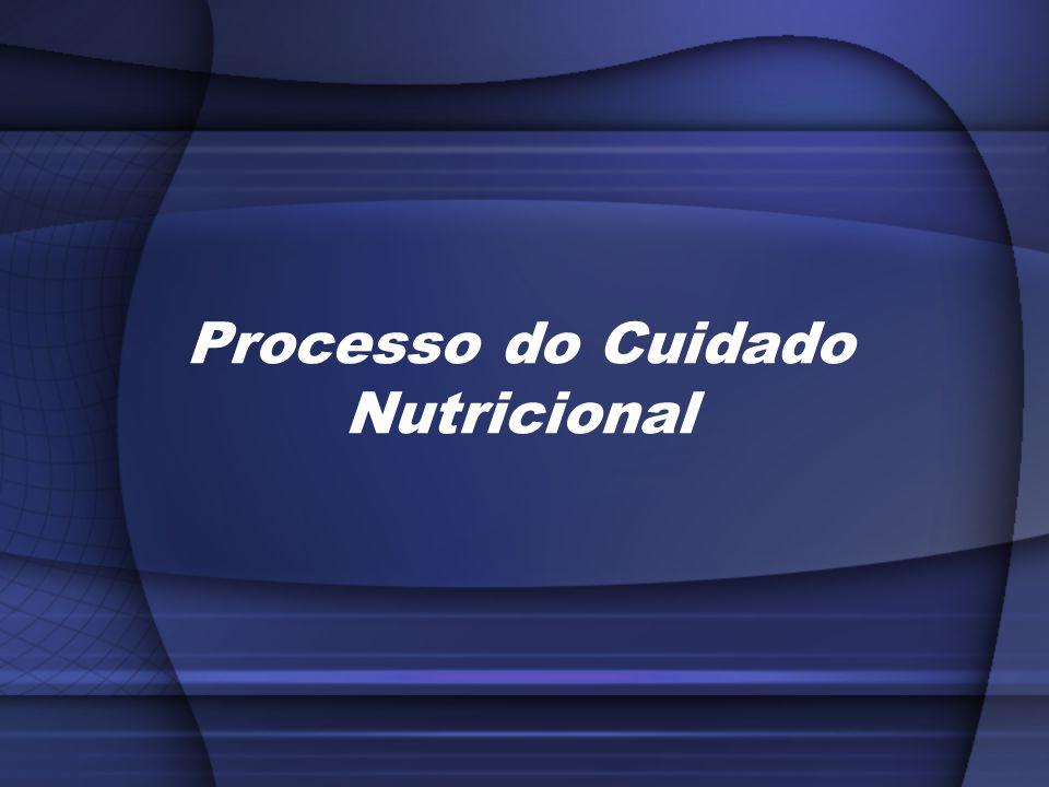 Processo do Cuidado Nutricional