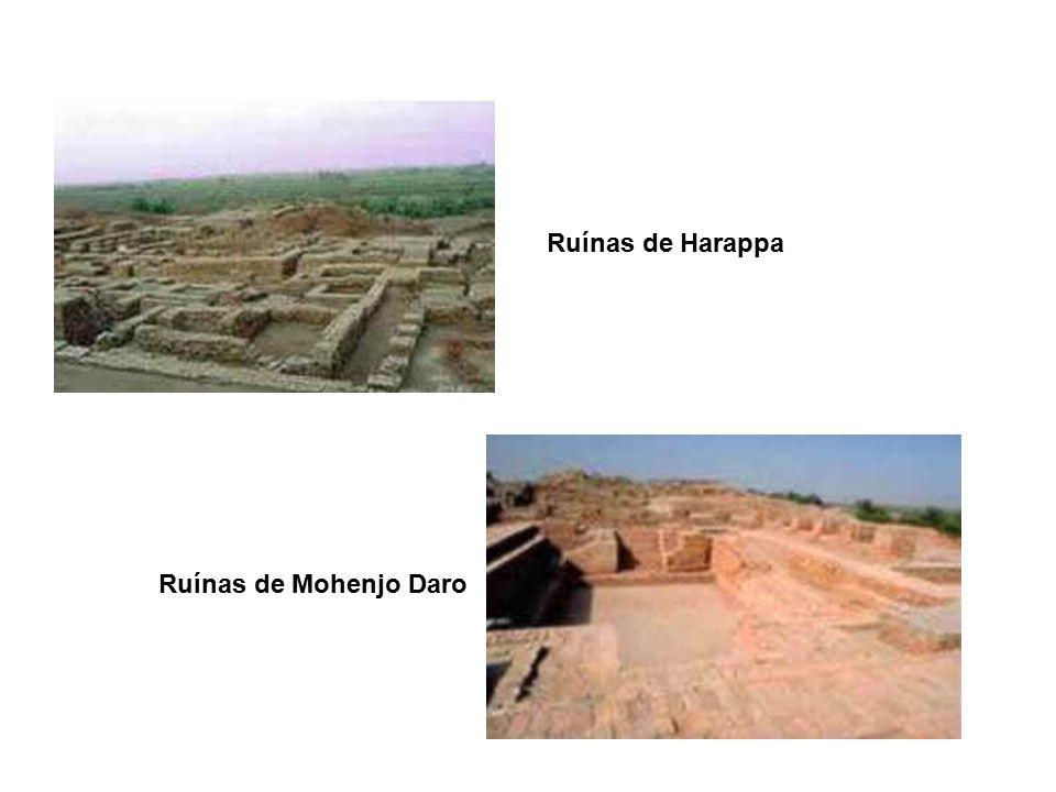 Ruínas de Harappa Ruínas de Mohenjo Daro