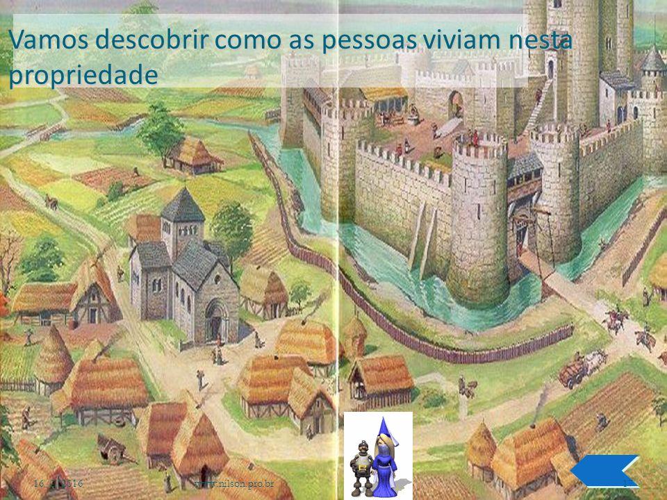 Quem eram os donos dos castelos A que classe social eles pertenciam 16/2/2016www.nilson.pro.br16