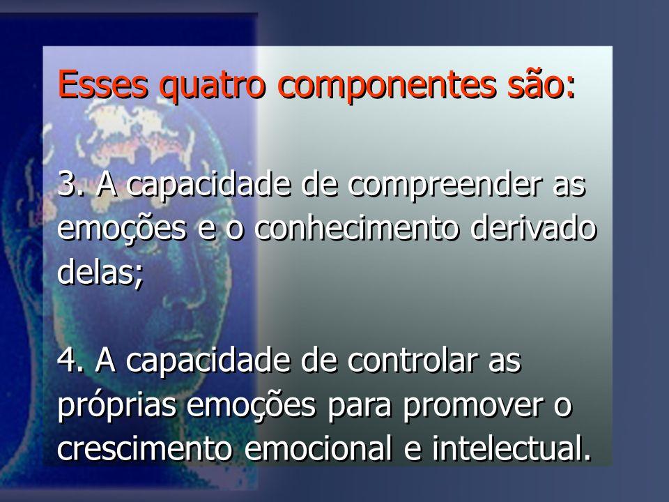 Esses quatro componentes são: 3.