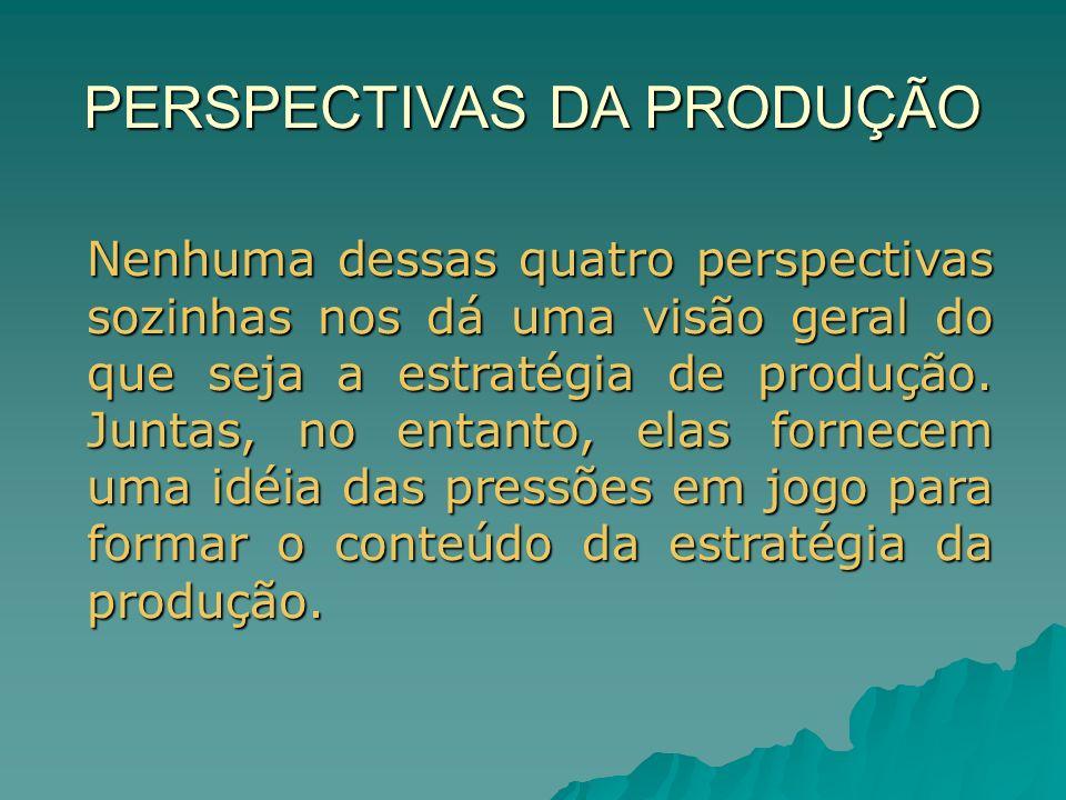 Recursos e Processos da Produção: Intangíveis A simples listagem dos tipos de recursos que uma operação produtiva possui não fornece uma visão completa do que ela pode fazer.