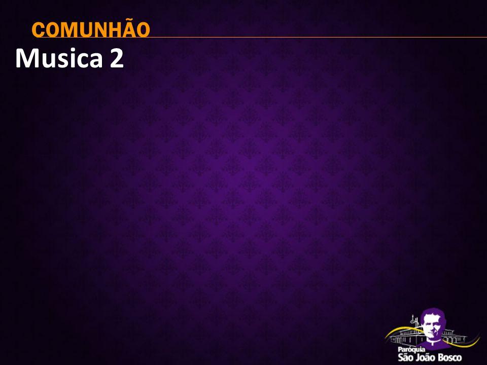 Musica 2 COMUNHÃO