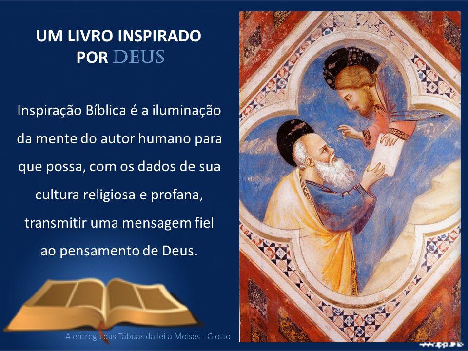 Inspiração Bíblica é a iluminação da mente do autor humano para que possa, com os dados de sua cultura religiosa e profana, transmitir uma mensagem fi
