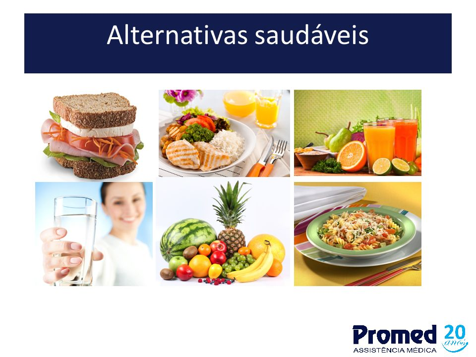 Alternativas saudáveis
