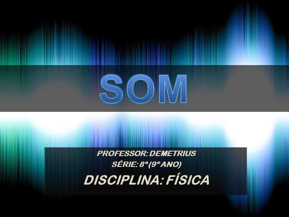 PROFESSOR: DEMETRIUS SÉRIE: 8ª (9º ANO) DISCIPLINA: FÍSICA