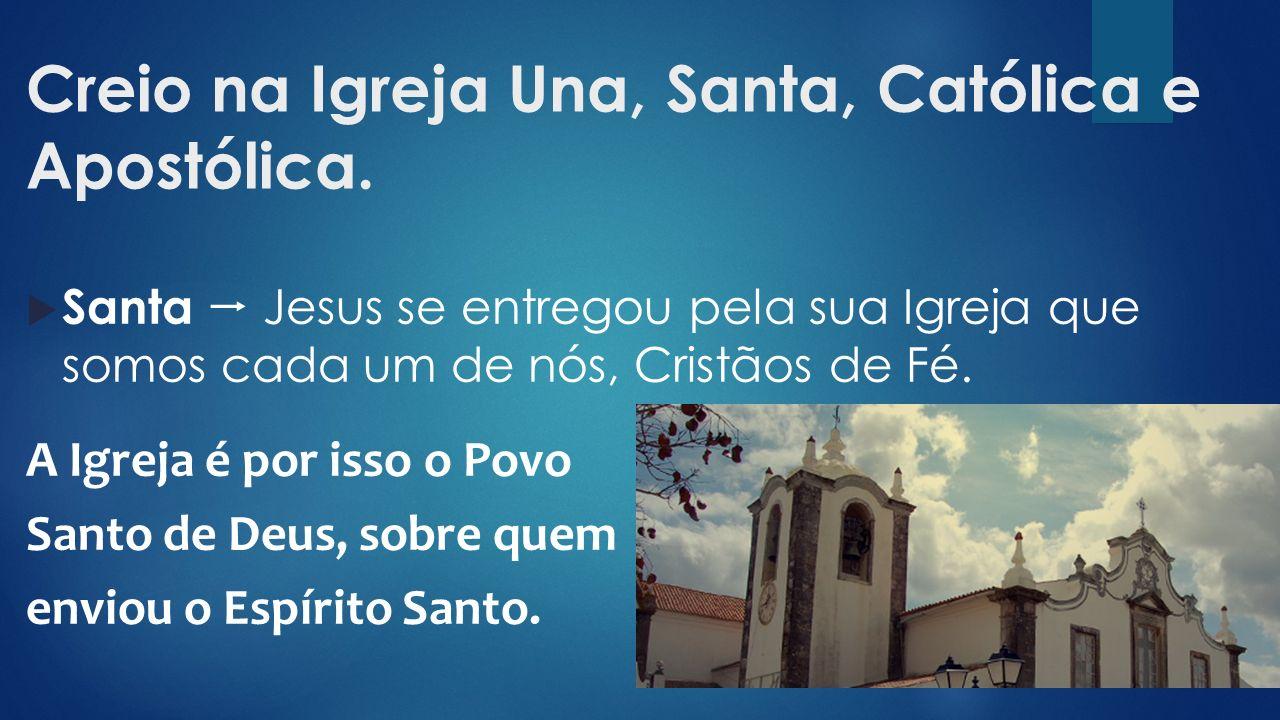  Santa  Jesus se entregou pela sua Igreja que somos cada um de nós, Cristãos de Fé.