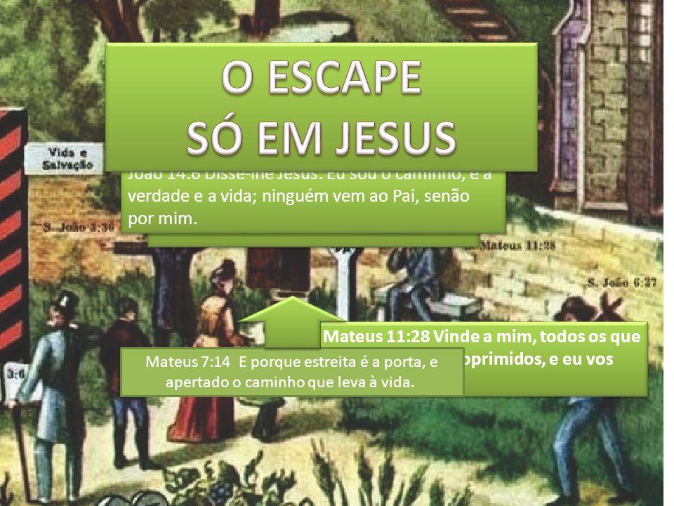 Mateus 11:28 Vinde a mim, todos os que estais cansados e oprimidos, e eu vos aliviarei.