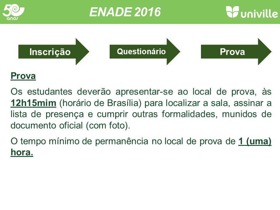 ENADE 2016 Concluintes Conceito ENADE Infraestrutura Org.