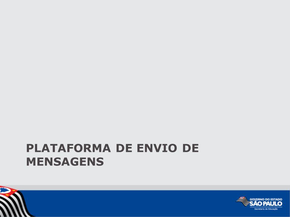 PLATAFORMA DE ENVIO DE MENSAGENS