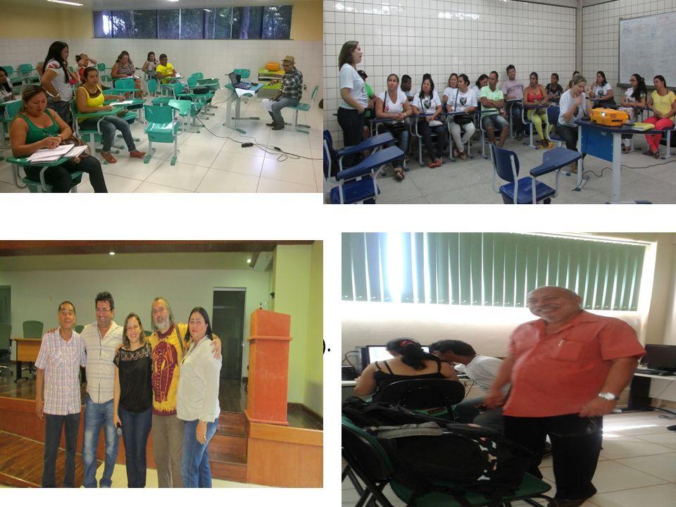 Oficina de produção de artigos, ministrada pelo Prof. Dr. Haroldo Bentes- IFPA (Belém).