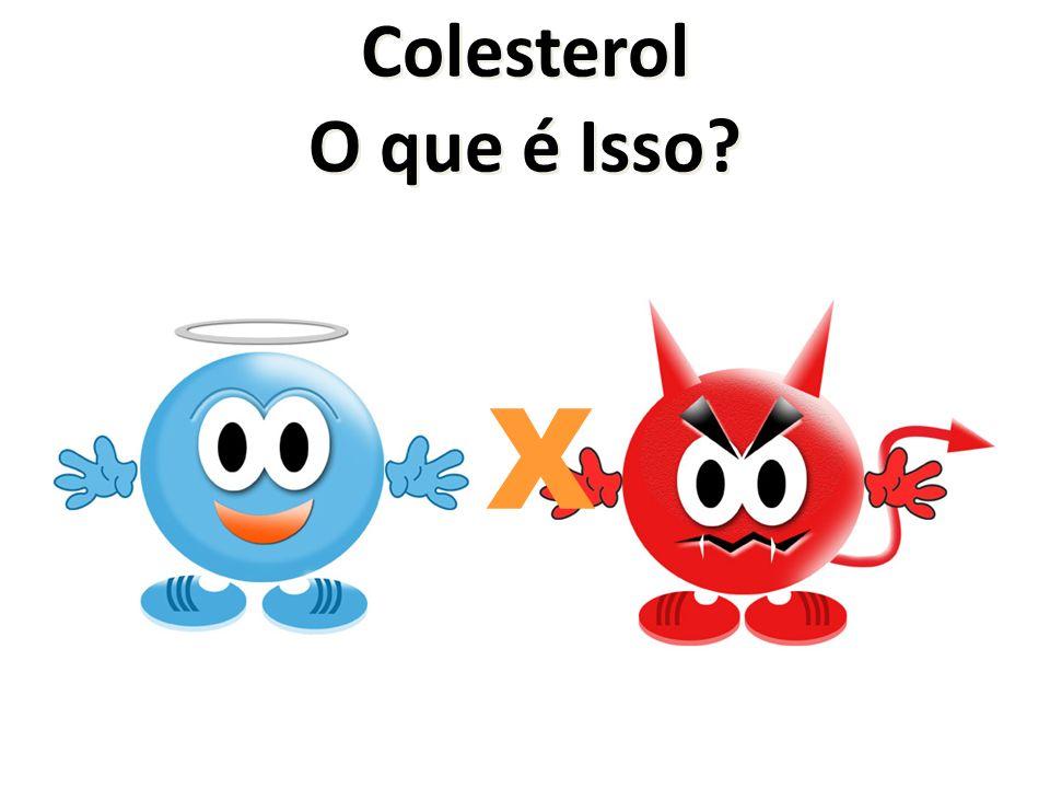 Colesterol O que é Isso X