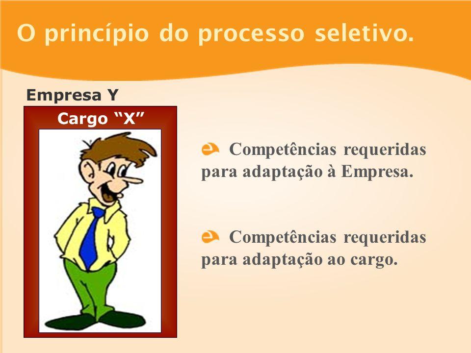 Empresa Y O princípio do processo seletivo.