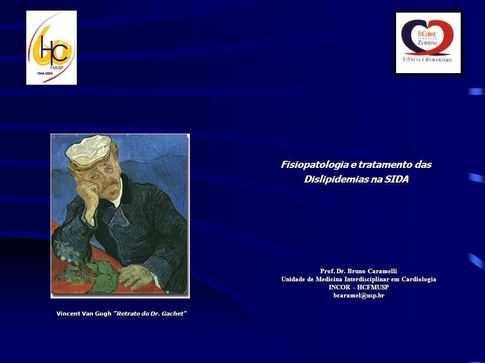 Fisiopatologia e tratamento das Dislipidemias na SIDA Prof.
