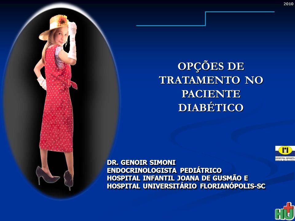 2010 DR. GENOIR SIMONI ENDOCRINOLOGISTA PEDIÁTRICO HOSPITAL INFANTIL JOANA DE GUSMÃO E HOSPITAL UNIVERSITÁRIO FLORIANÓPOLIS-SC DR. GENOIR SIMONI ENDOC
