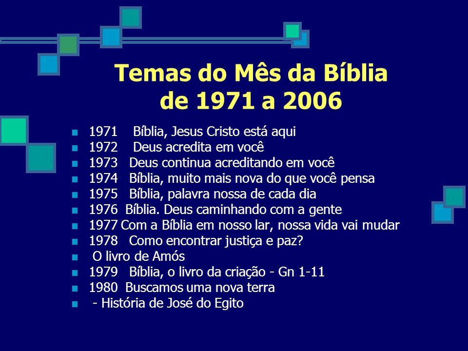 1981 Que todos tenham vida.- Carta aberta de Tiago 1982 Que sabedoria é esta.