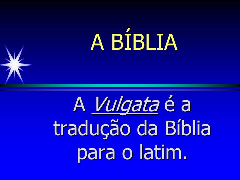 A BÍBLIA A Septuaginta é uma tradução do hebraico para o grego, e tem este nome em homenagem a 70 intelectuais judeus que a prepararam.