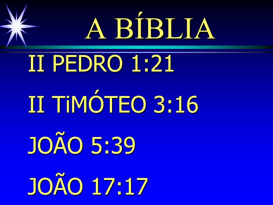 PRINCÍPIOS ENVOLVIDOS: ä Inspiração por Deus. ä Reconhecimento pelos homens de Deus.