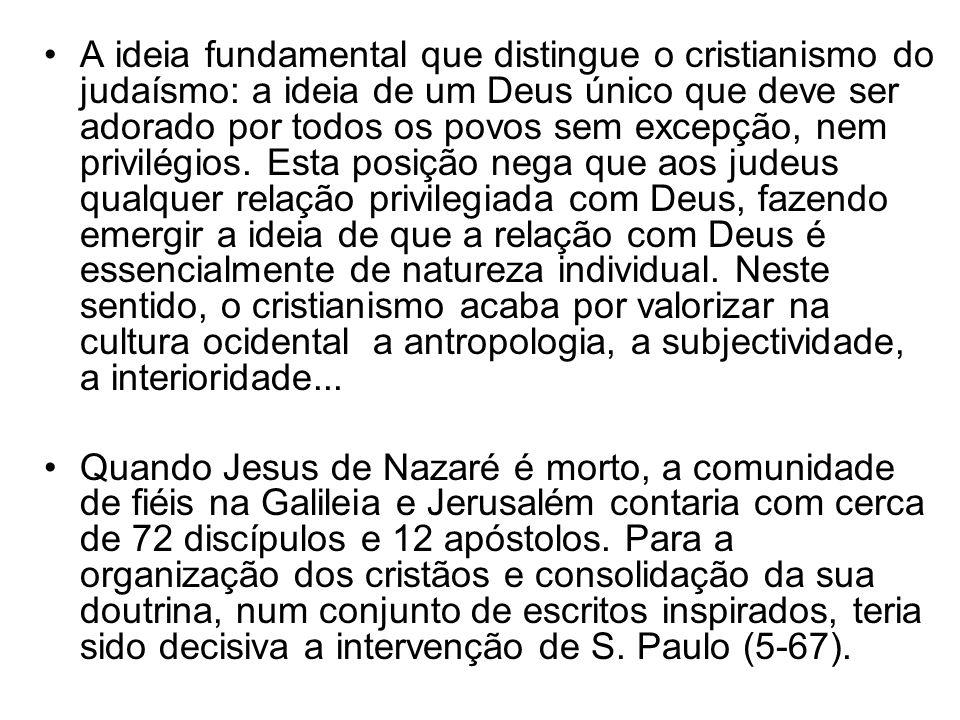 Após a conversão de S.Paulo a comunidade cristã começa a espalhar-se pelo mundo antigo.