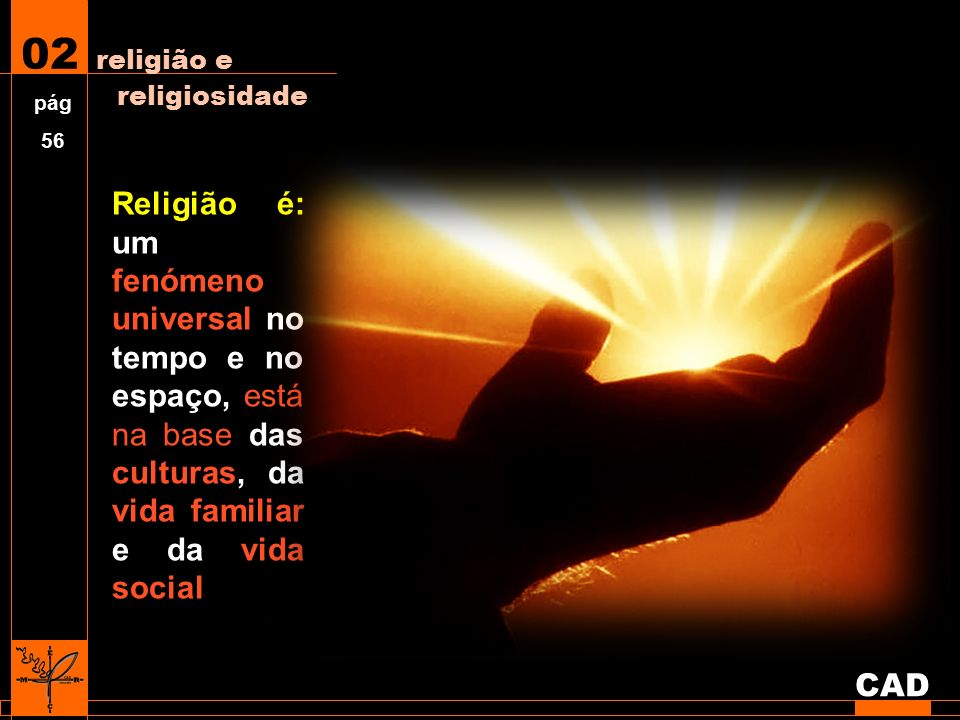 Religião é um conjunto de doutrinas, de rituais e de práticas que pretendem estabelecer o contacto entre a divindade e o humano.