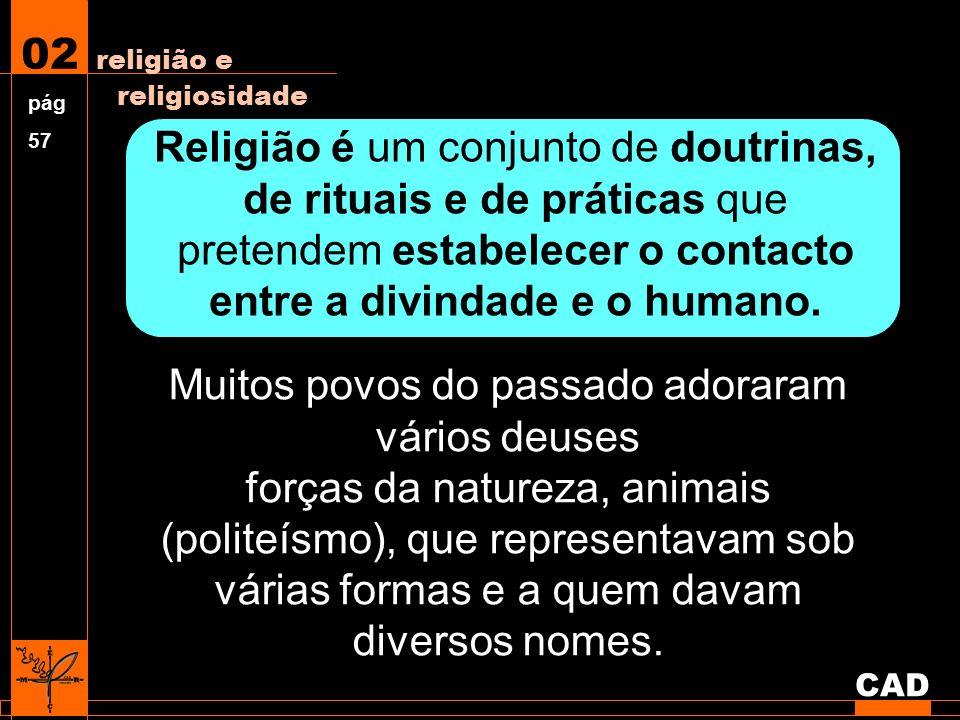 Politeísmo Sistema religioso que reconhece e venera vários deuses.