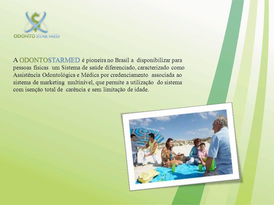 ODONTOSTARMED Uma franquia online da ODONTOSTARMED, que é o primeiro portal de vendas online de sistema de saúde do Brasil, agregado ao marketing multinível atuando de forma diferenciada, trazendo maior agilidade, conforto e informação e renda extra para seus associados.
