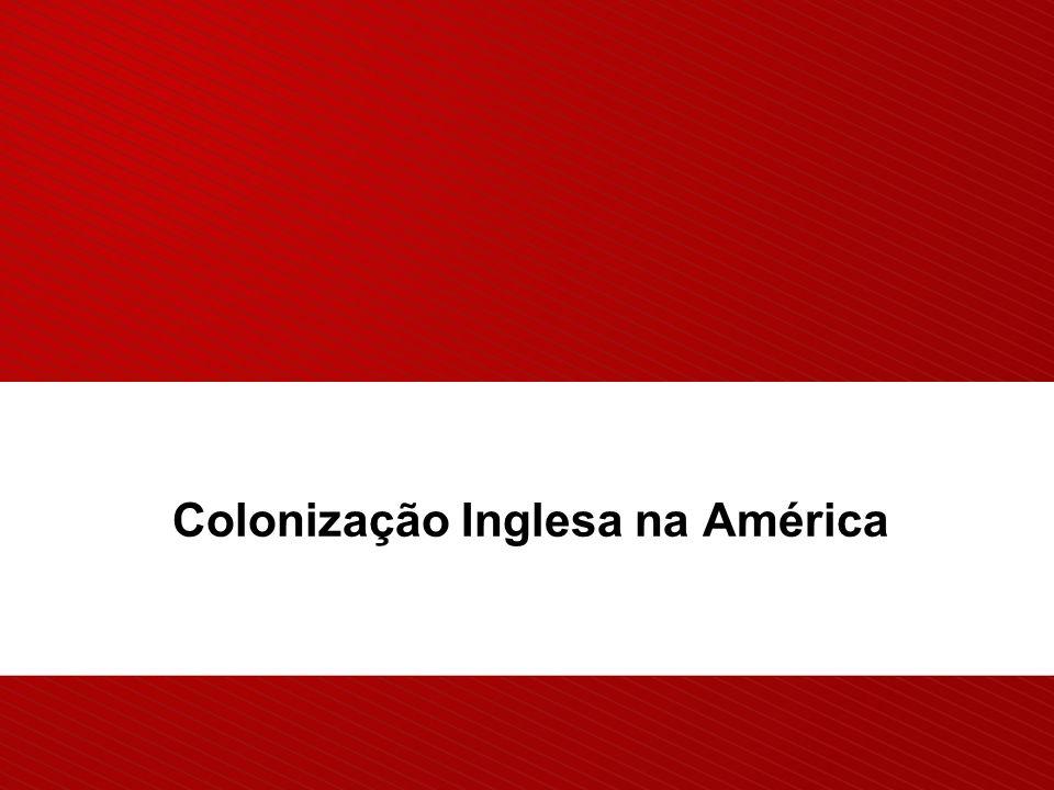 Colonização Inglesa na América