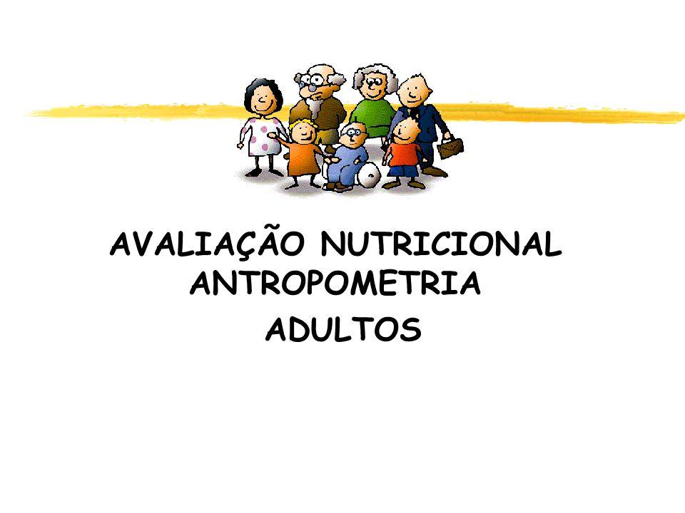 AVALIAÇÃO NUTRICIONAL ANTROPOMETRIA ADULTOS