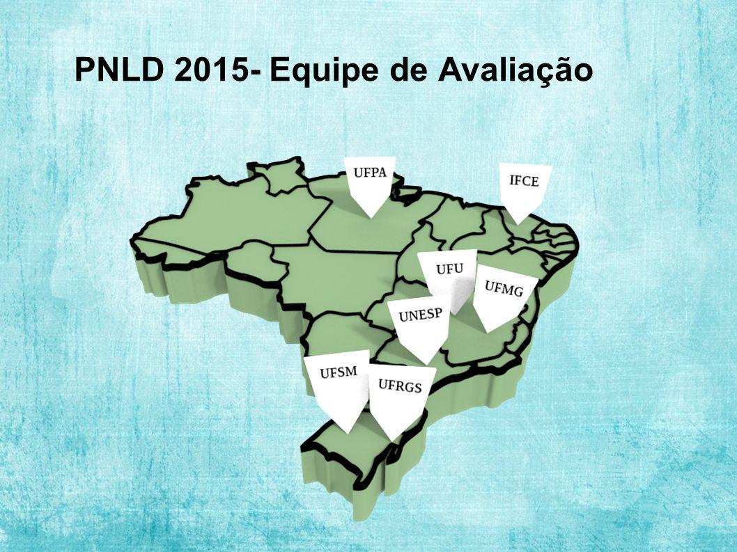 PNLD 2015- Equipe de Avaliação