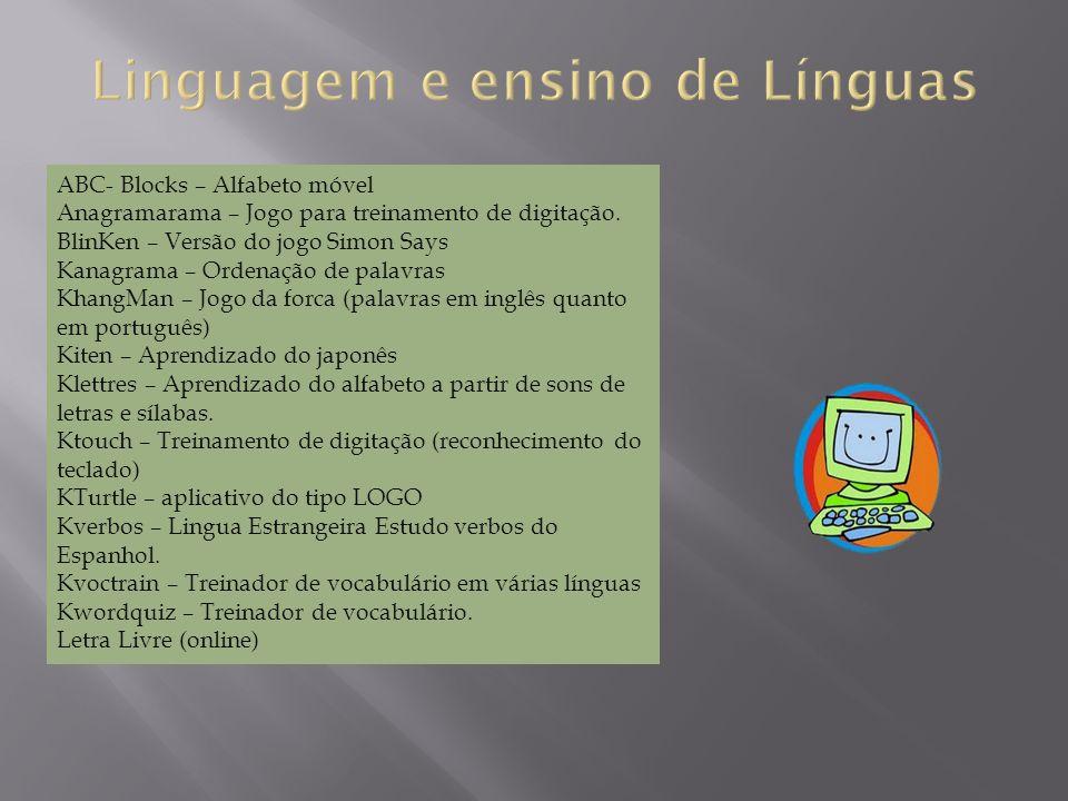 ABC- Blocks – Alfabeto móvel Anagramarama – Jogo para treinamento de digitação.