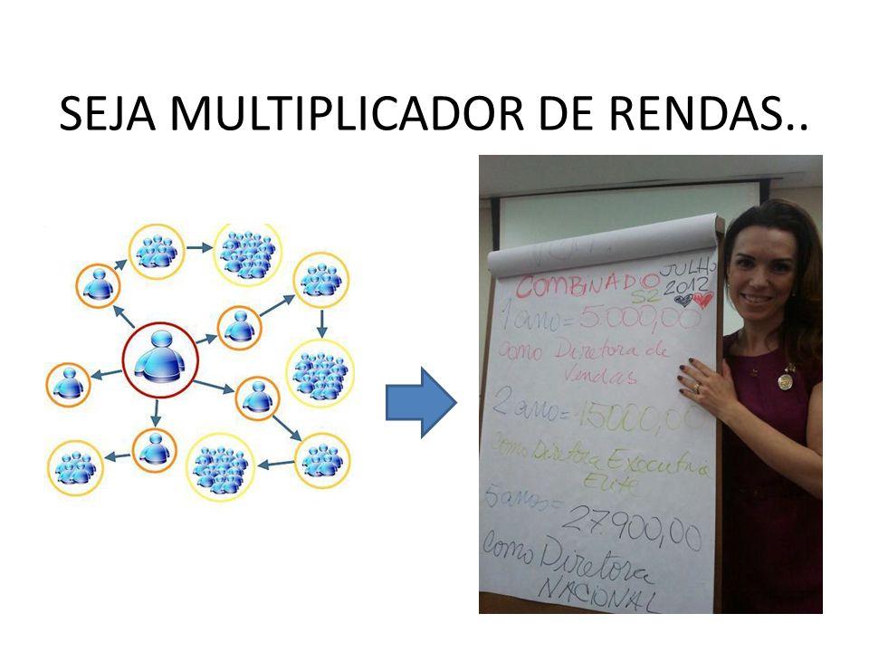 SEJA MULTIPLICADOR DE RENDAS..
