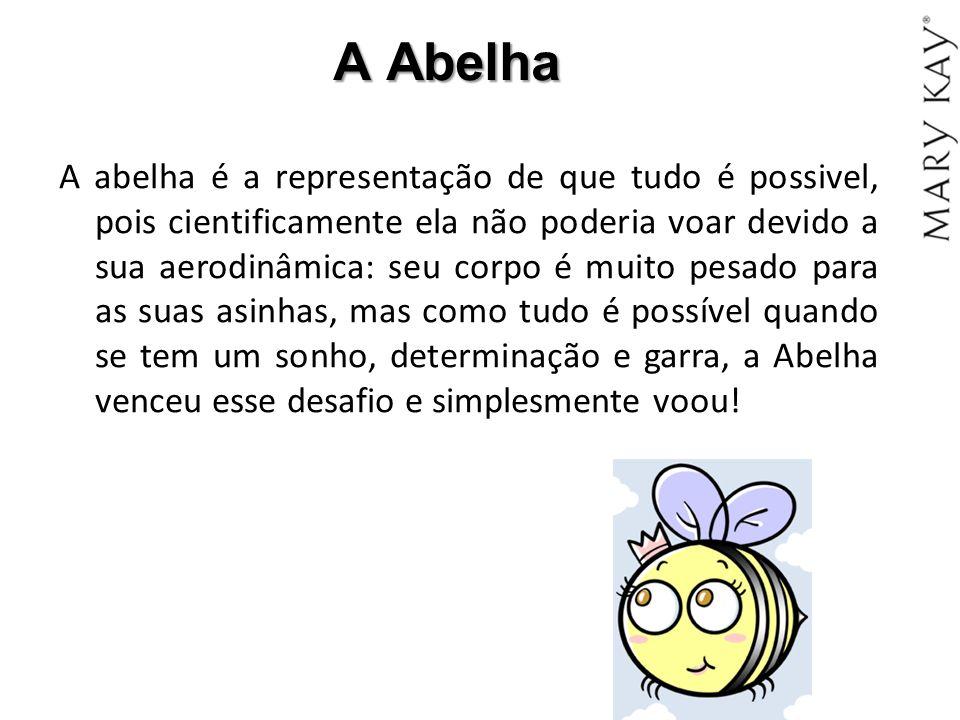 A Abelha A abelha é a representação de que tudo é possivel, pois cientificamente ela não poderia voar devido a sua aerodinâmica: seu corpo é muito pes