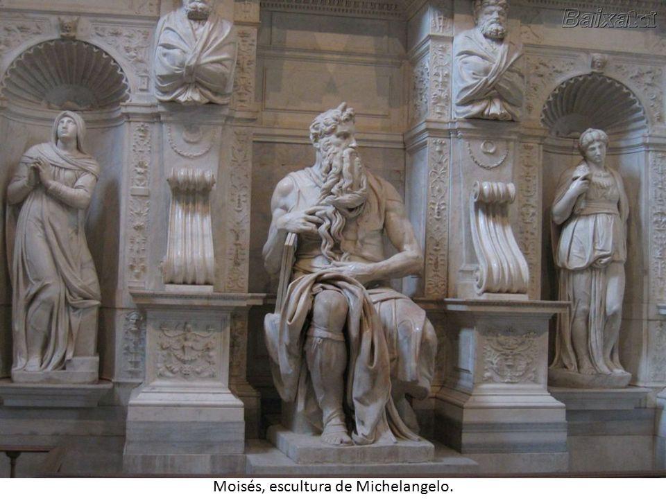 Moisés, escultura de Michelangelo.