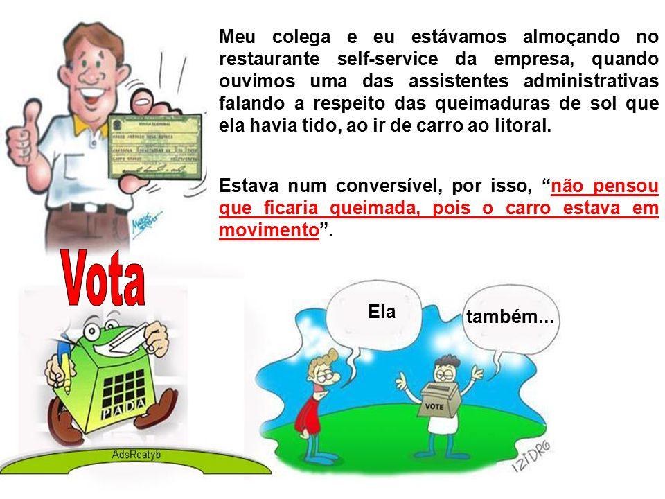 Antigamente, eu trabalhava em suporte técnico num centro de atendimento a clientes em Manaus.