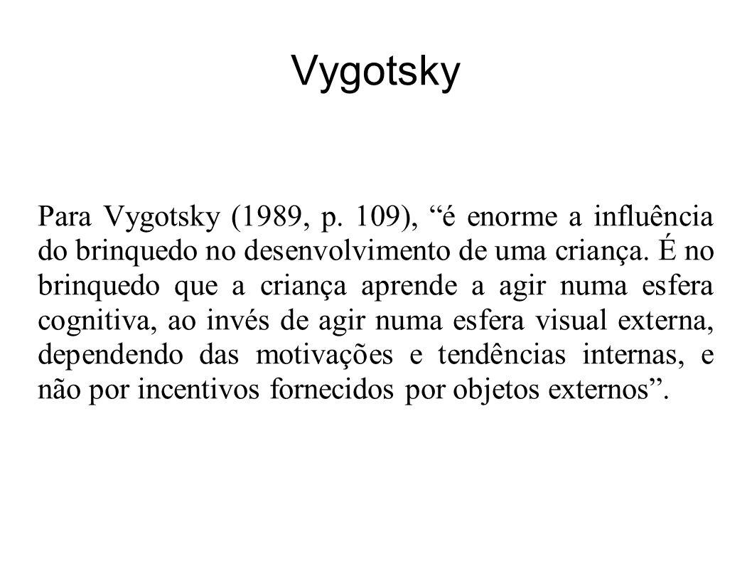 Vygotsky Para Vygotsky (1989, p.