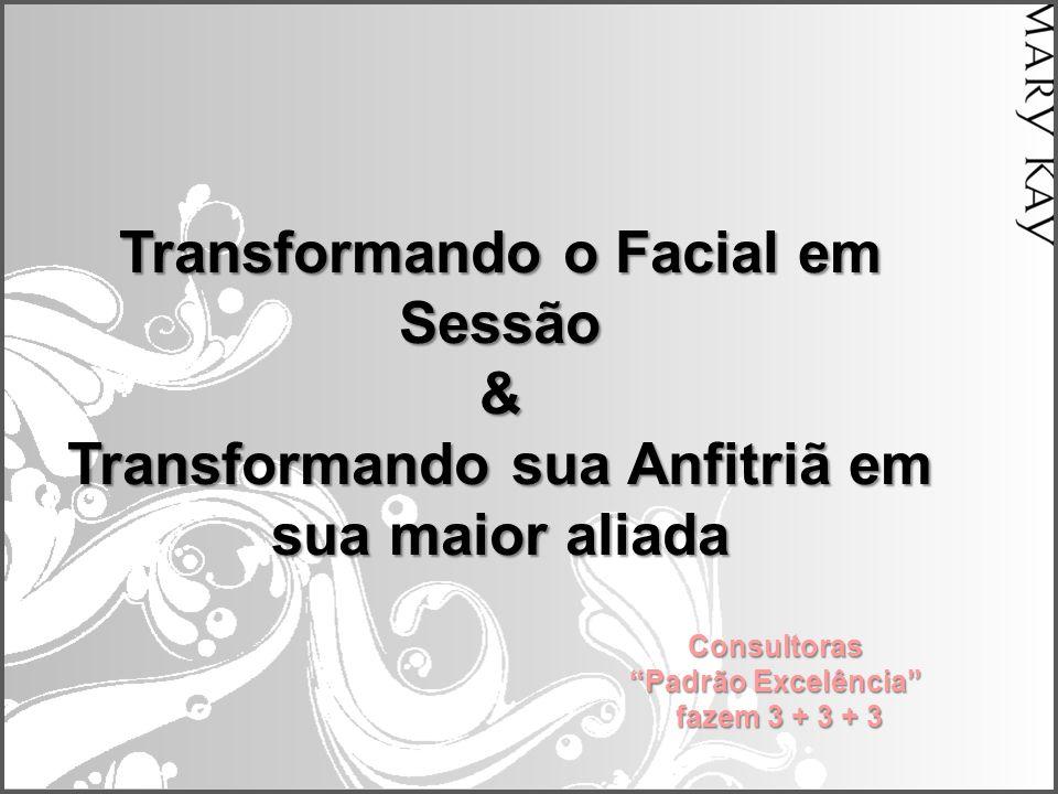"""Transformando o Facial em Sessão & Transformando sua Anfitriã em sua maior aliada Consultoras """"Padrão Excelência"""" fazem 3 + 3 + 3"""