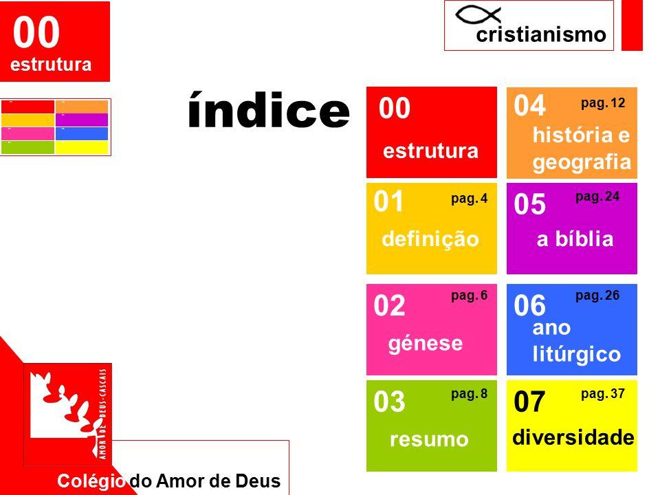 Colégio do Amor de Deus EMRC 01 definição Cristianismo