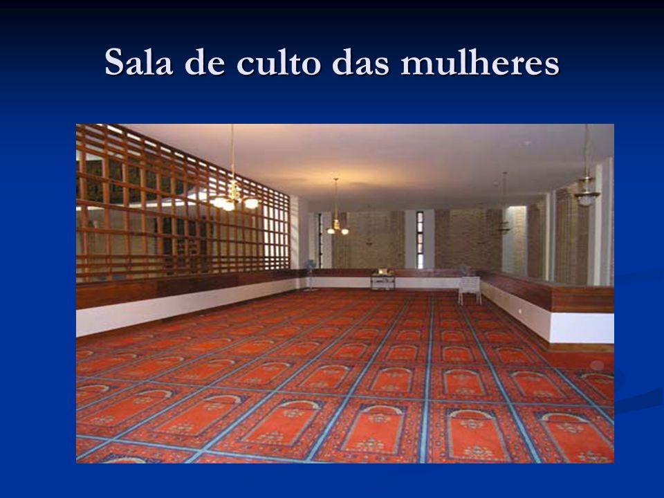 Sala de culto das mulheres