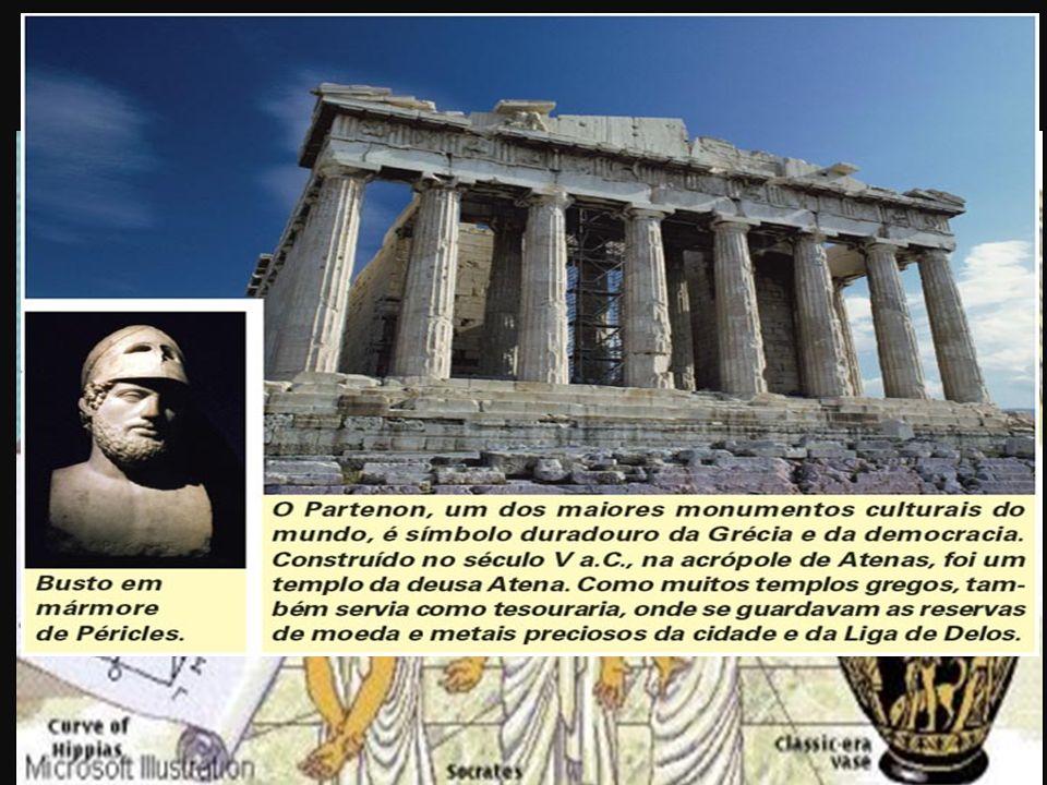 4ª) Democracia: Fundada por Clístenes em 510 a.C. Características: Século V a.C.