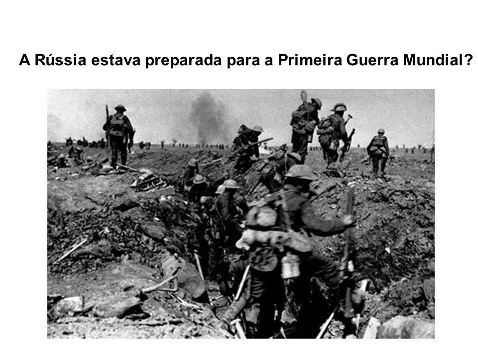 A Rússia estava preparada para a Primeira Guerra Mundial