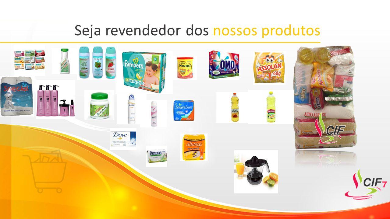 Seja revendedor dos nossos produtos