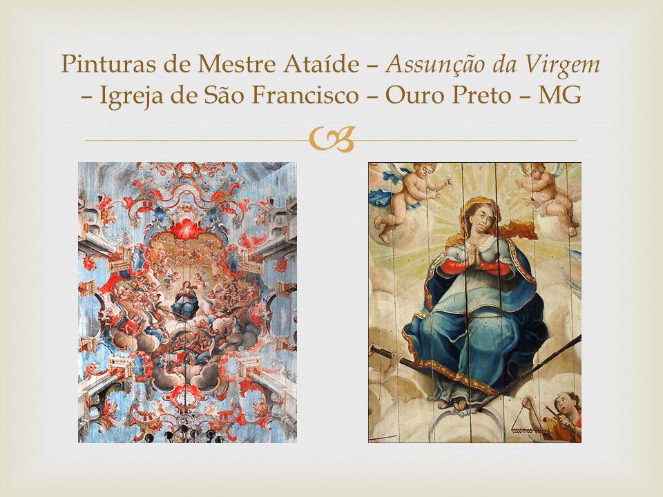  Pinturas de Mestre Ataíde – Assunção da Virgem – Igreja de São Francisco – Ouro Preto – MG