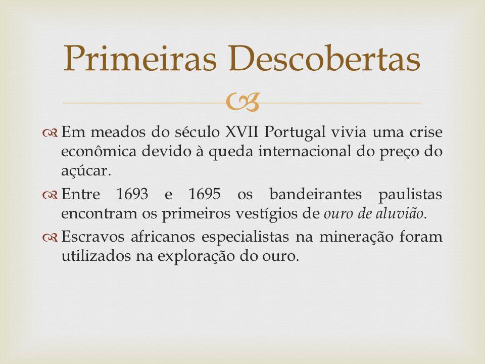   Em meados do século XVII Portugal vivia uma crise econômica devido à queda internacional do preço do açúcar.