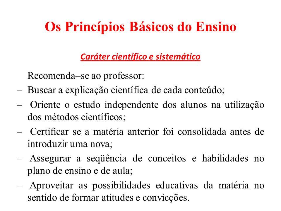 Classificação dos Métodos de Ensino: 2 – Método de Trabalho independente O aspecto mais importante do trabalho independente é a atividade mental do aluno.